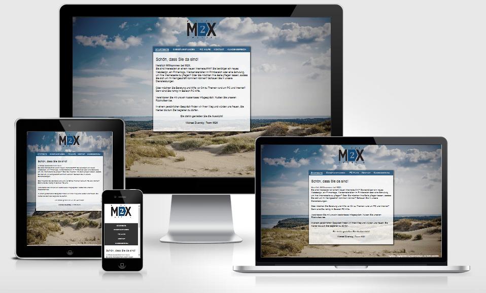 Responsive Webdesign von M2X